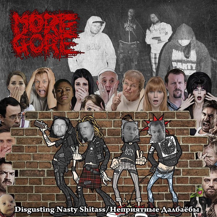 MoreGore Nasty Cover